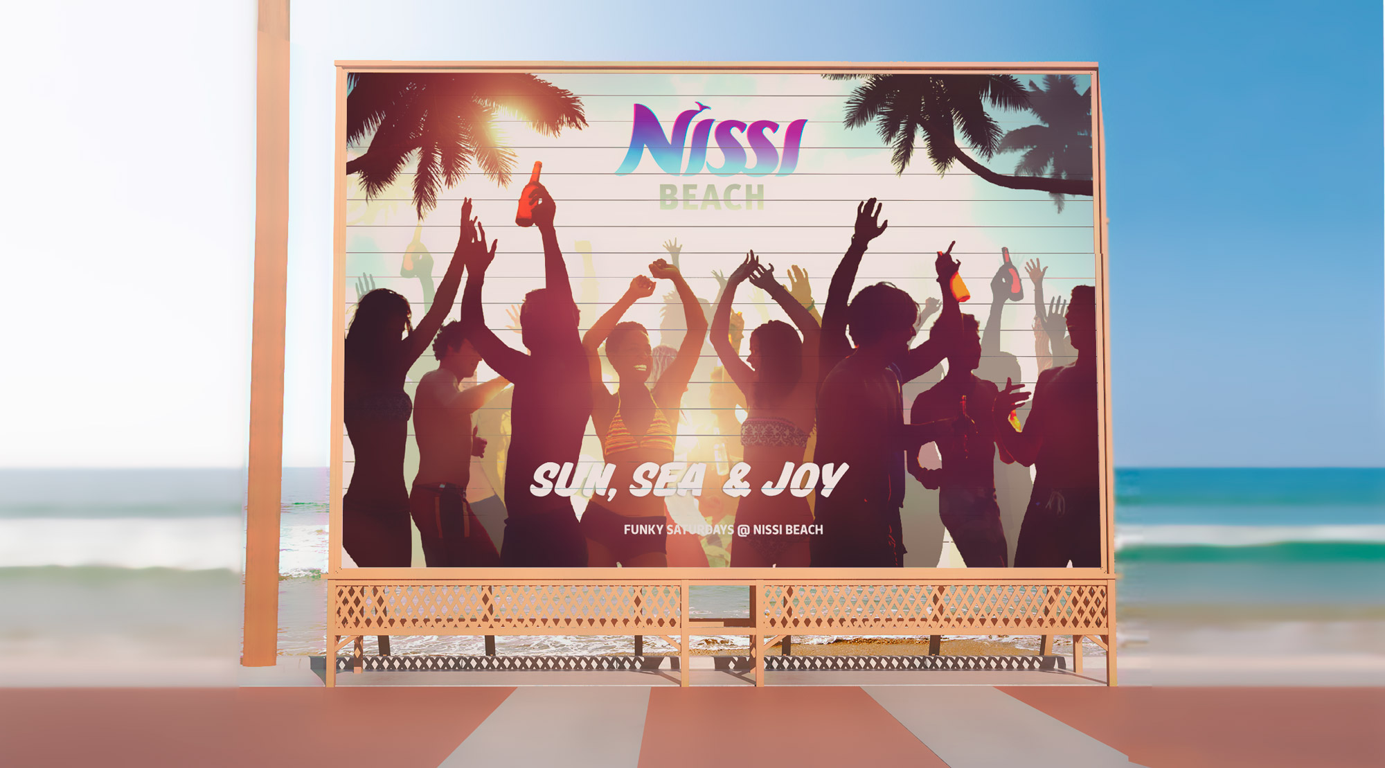 nissi beach logotype (by lehay.ru)
