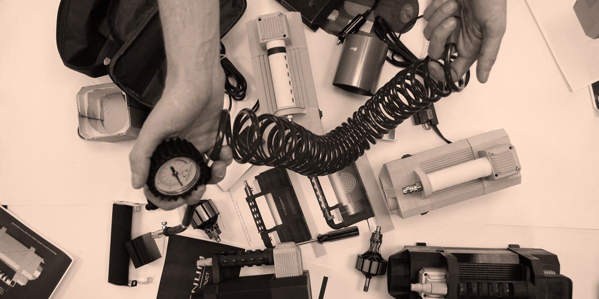 процесс дизайна компрессора